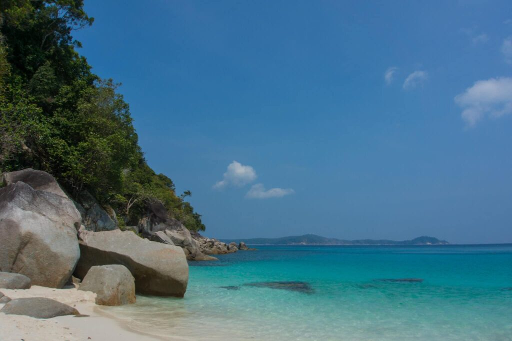 Secluded Beach on Perhentian Besar