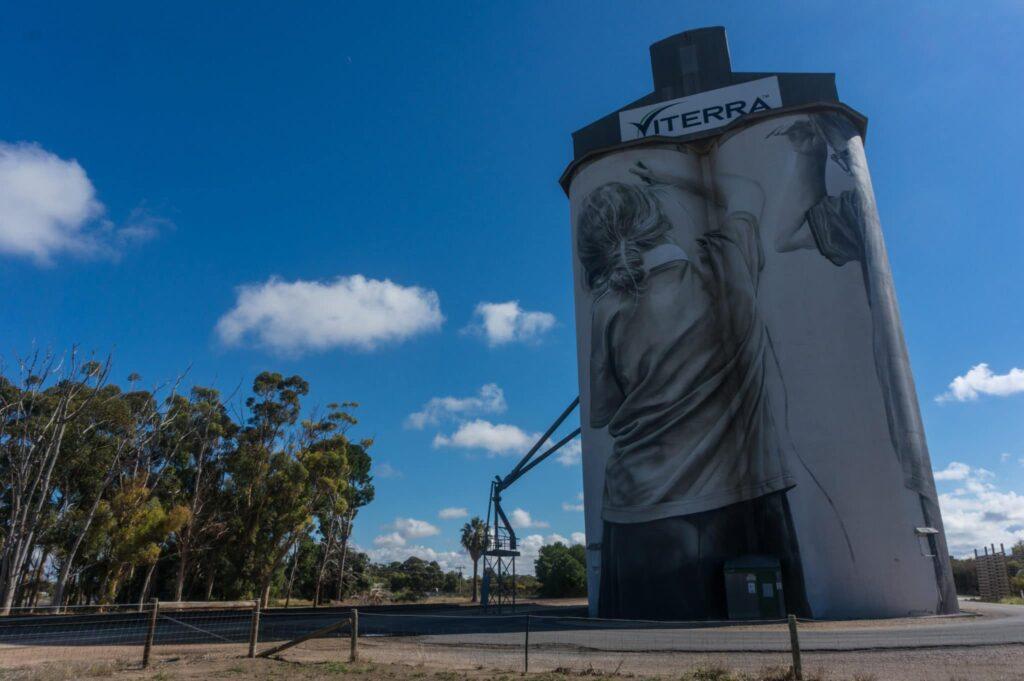 Coonalpyn Silos, South Australia