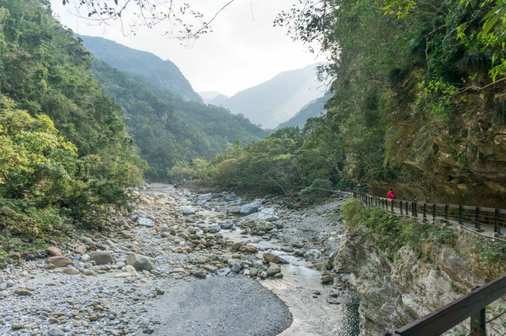 Exploring Taroko Gorge in Taiwan