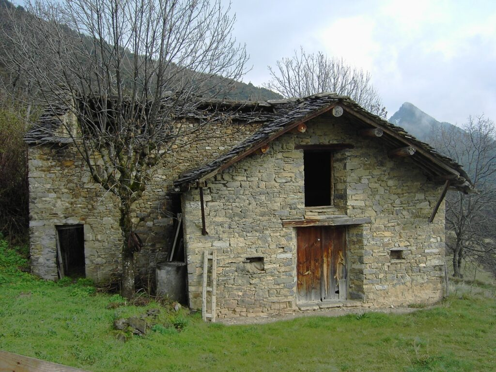 Andorran borda; a farm house