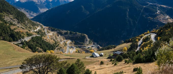 Carretera de Montaup in Canillo is a beautiful place to live