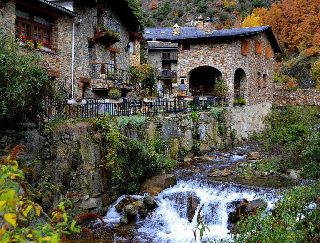 Riu d'Os in Bixessarri, Sant Julià de Lòria
