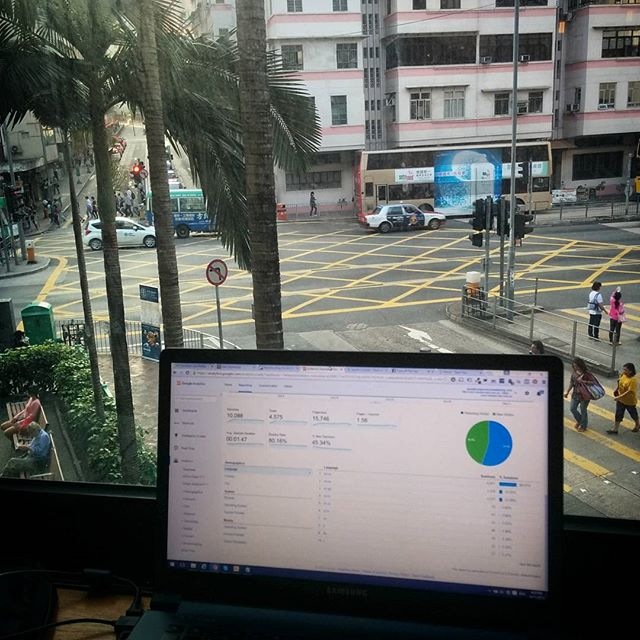 Working from Hong Kong