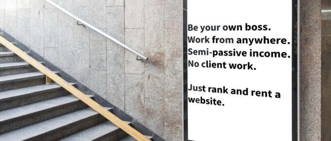 Rank and Rent SEO Websites