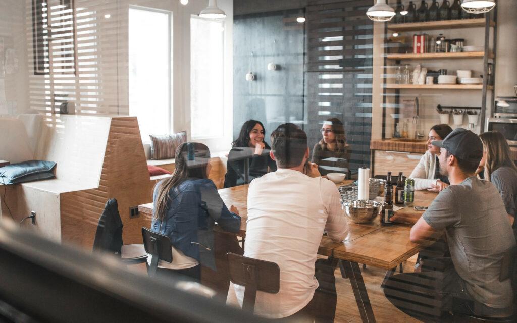 What digital marketing agency team meetings look like.
