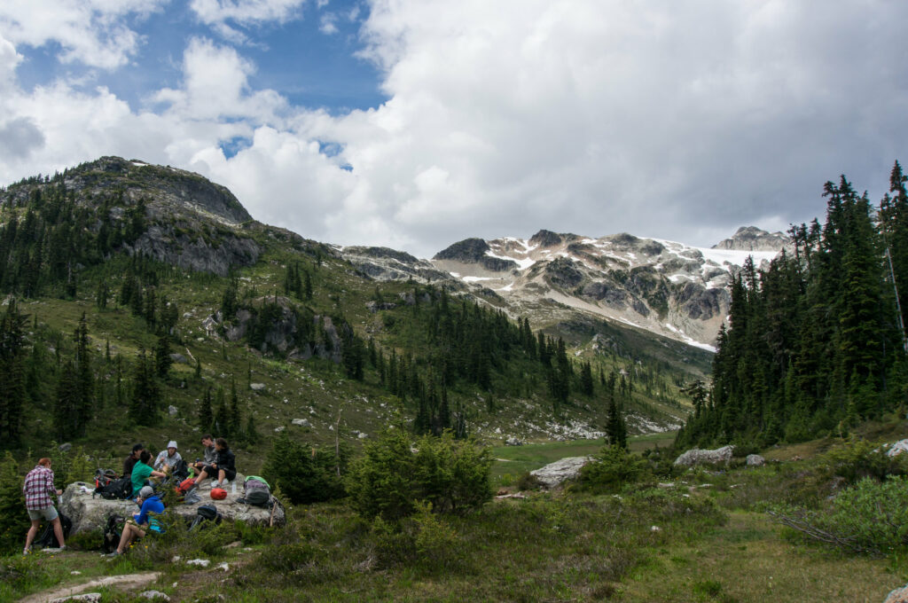 To me, financial freedom allows me to party with my mates in the mountains.