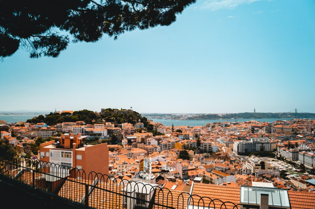 Lisbon in Portugal is becoming the defacto home to the digital nomad community in Europe